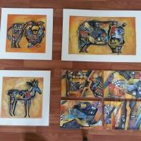 Станковая живопись. Копии вьетнамской художницы