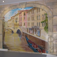 Венеция. Обеденная зона.