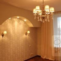 Дизайн 2-х уровневой квартиры 180 м2. Реализация. 1этаж