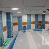 """Дизайн-проект Детский бассейн """"Алые паруса"""", г.Новосибирск"""