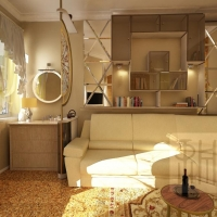 Дизайн-проект. Квартира. 80 кв. м.