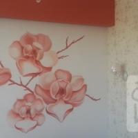 Интерьер. Фантазийные цветы