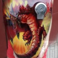 Мотоцикл Дракон