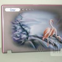 Ноутбук. Фламинго