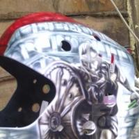 Аэрография. Шлемы