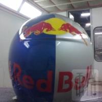 Шлем. Шлем Red Bull