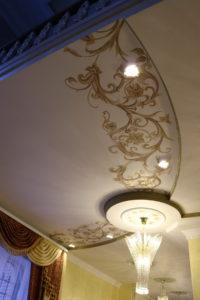Роспись. Дизайн потолка